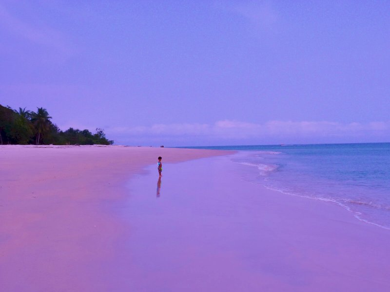 Fantastische Küstenlinie