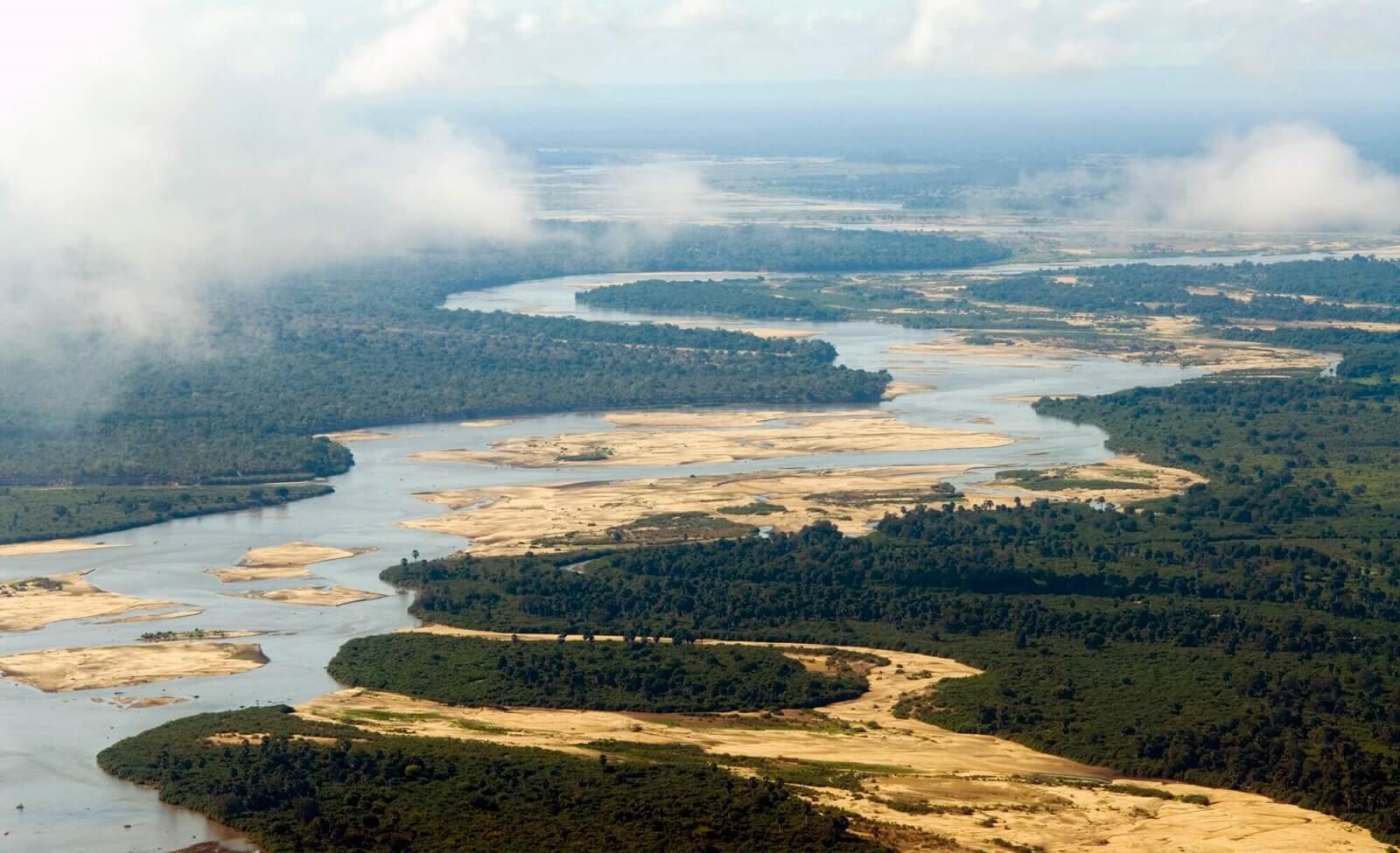 Die größten Naturschutzgebiete Afrikas