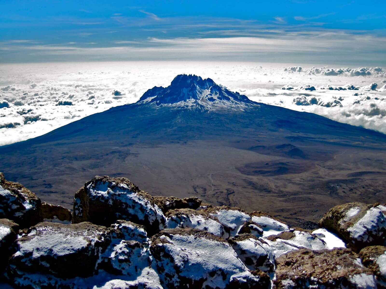 Der höchste Berg Afrikas