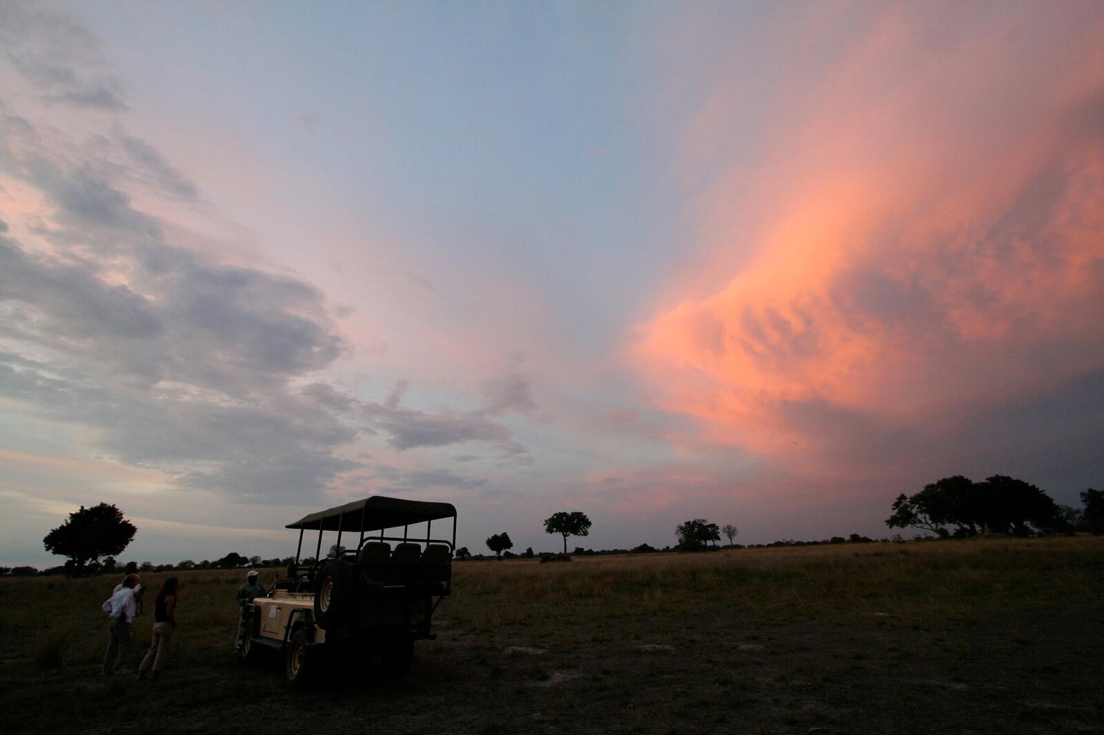 Okavango-Westen