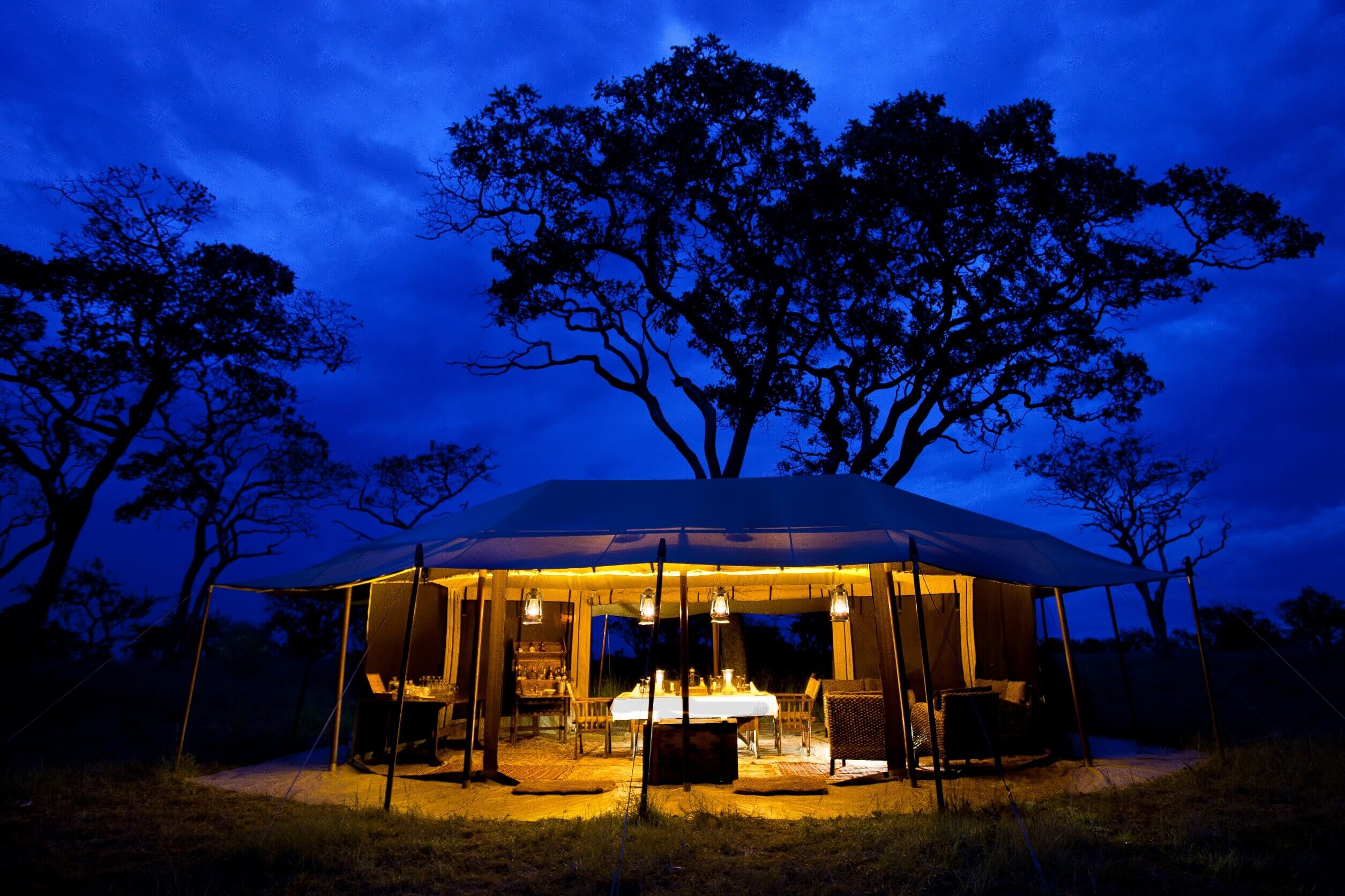Legendary Serengeti Camp Kirawira