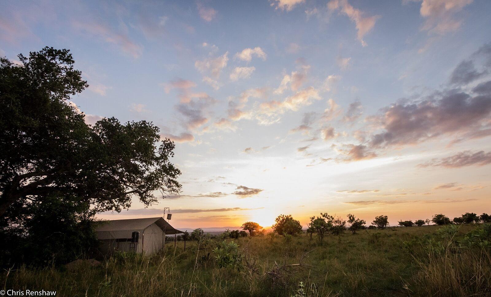 Legendary Serengeti Camp Maswa