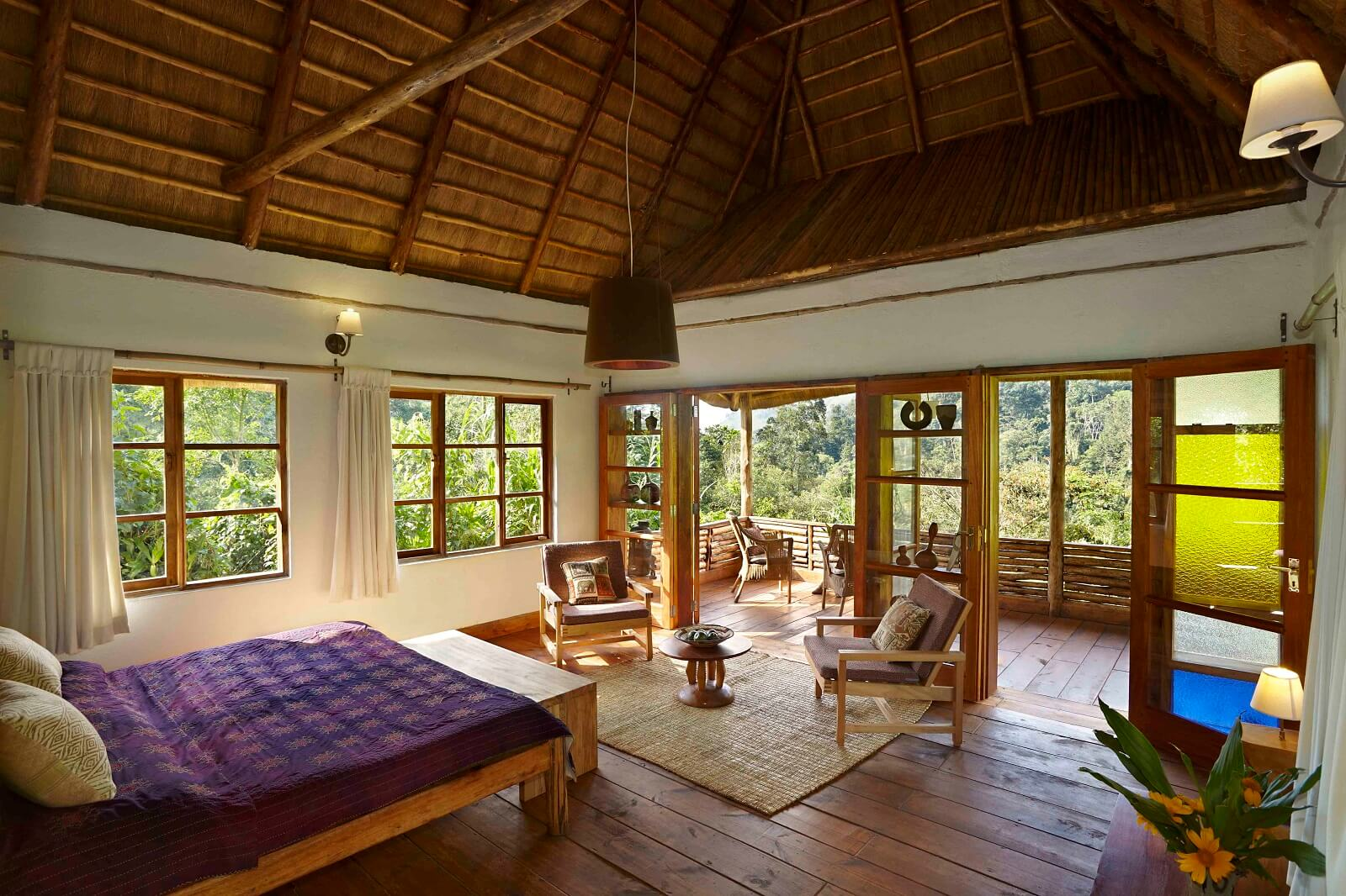 Volcanoes Bwindi Safari Lodge