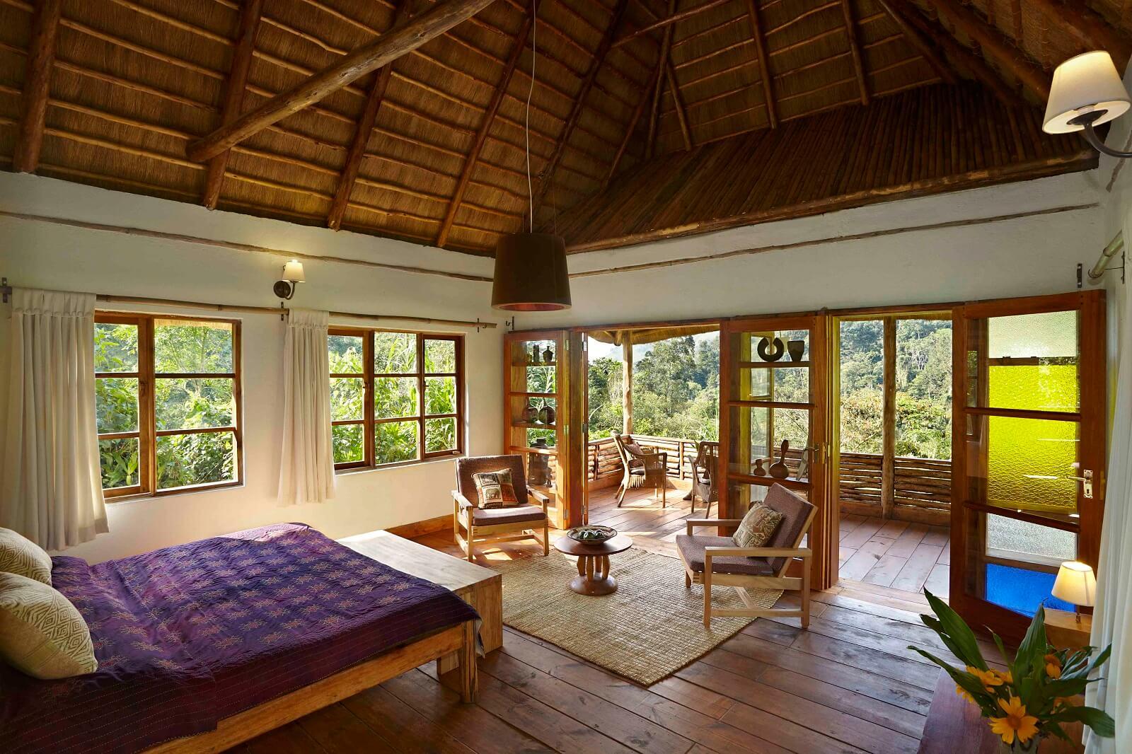 Volcanoes Bwindi Safari Lodge