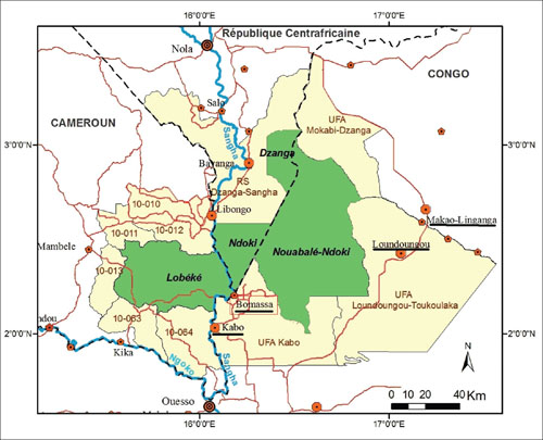 Schließung des Nouabalé-Ndoki-Nationalparks