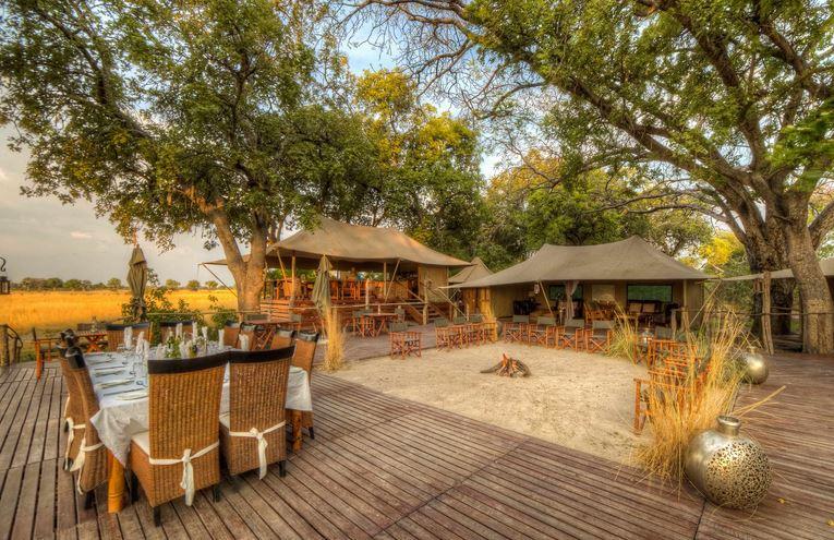 Das Kadizora Camp setzt auf bezahlbaren Safaritourismus im Okavango-Delta