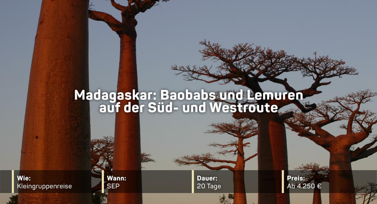 Madagaskars beste Nationalparks