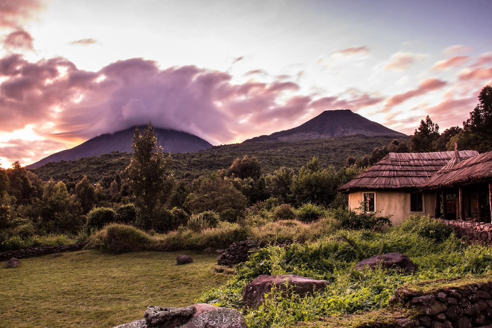 Uganda Vulkan-Tour