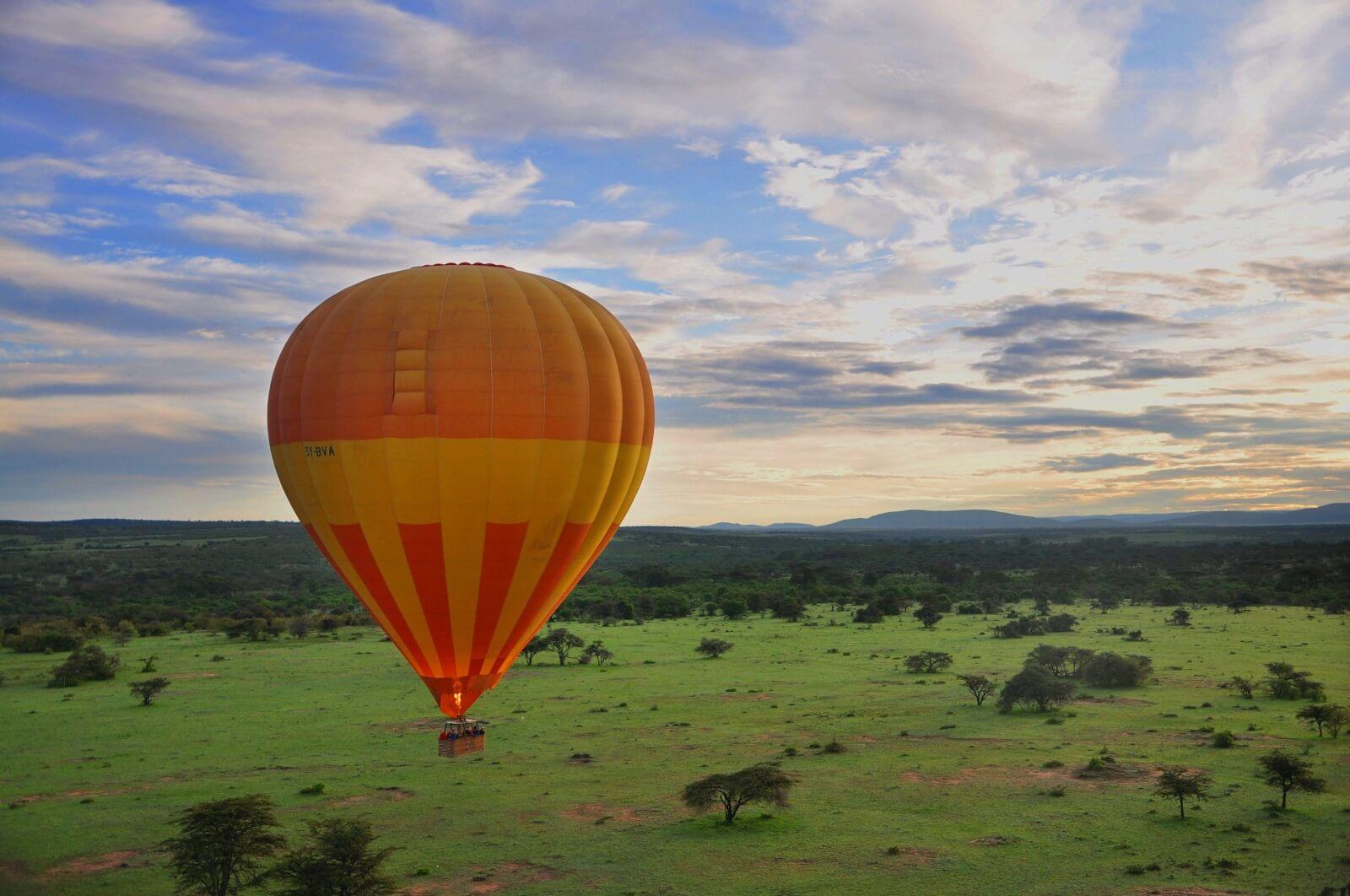 Tansania im Regen
