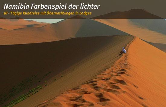 Namibia: Farbenspiel der Lichter